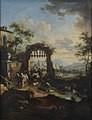 Vittorio Amedeo Cignaroli (1730-1800), Tobiolo e l'angelo, terzo quarto del XVIII secolo (inv. 559/D). Torino, Museo D'Arte Antica e Palazzo Madama