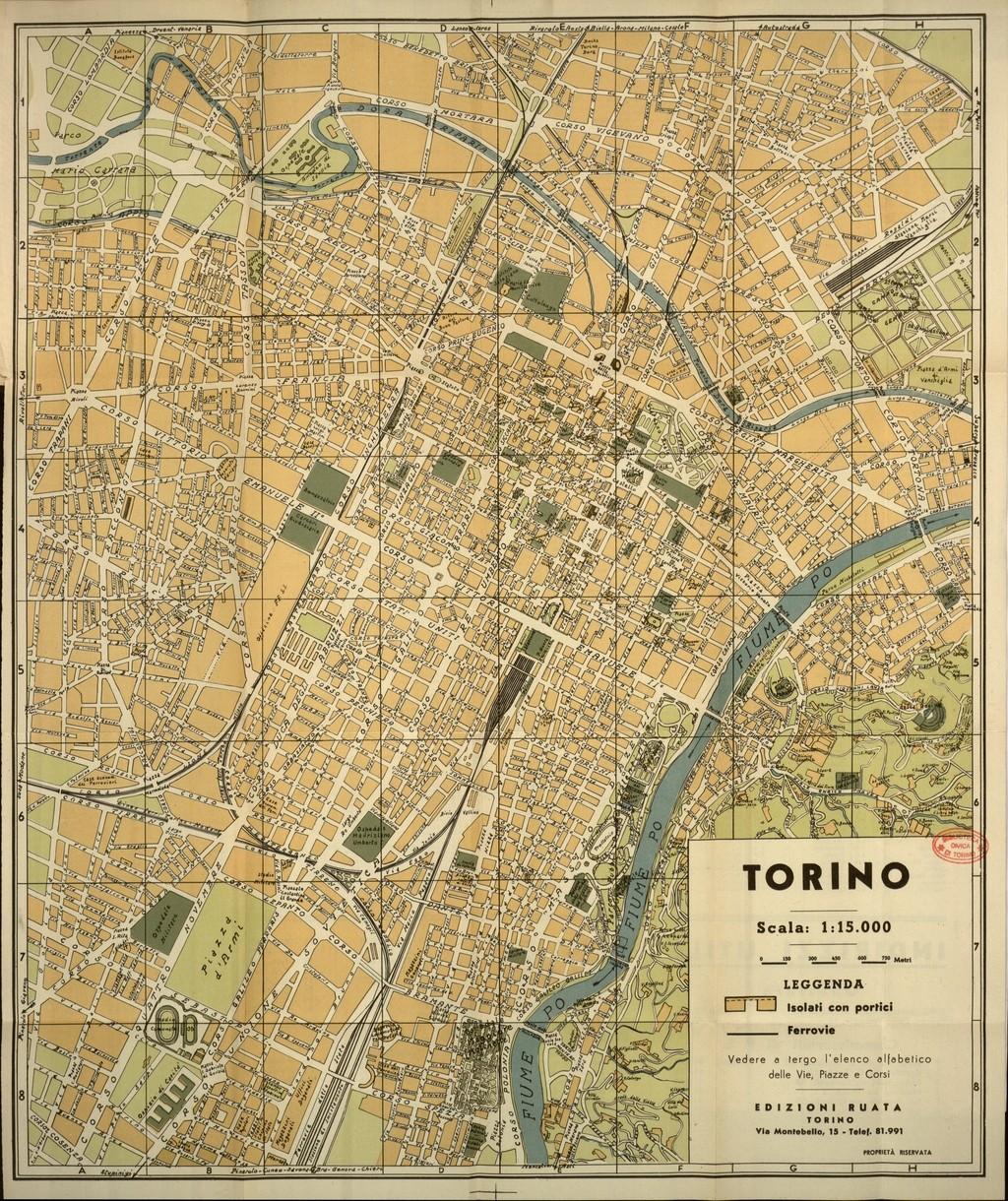 Torino Cartina