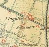 Cascina Juva, il Lingotto. Istituto Geografico Militare, Pianta di Torino e dintorni, 1911. © Archivio Storico della Città di Torino