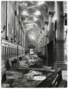 Chiesa di San Gioacchino Corso Giulio Cesare angolo Via Vittorio Amedeo Cignaroli 3. Effetti prodotti dai bombardamenti dell'incursione aerea dell'8-9 dicembre 1942. UPA 2754_9C06-01. © Archivio Storico della Città di Torino