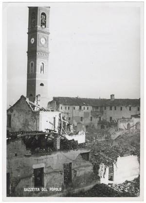 Chiesa Madonna di Campagna, Via Cardinale Massaia 98. Effetti prodotti dai bombardamenti dell'incursione aerea dell'8-9 dicembre 1942. UPA 2815D_9D01-21. © Archivio Storico della Città di Torino