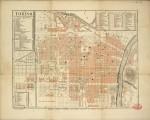 Pianta topografica della città di Torino, 1880 circa