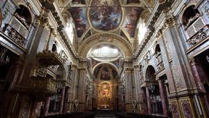 Chiesa dei Santi Martiri, interno. Fotografia di Paolo Mussat Sartor e Paolo Pellion di Persano, 2010. © MuseoTorino