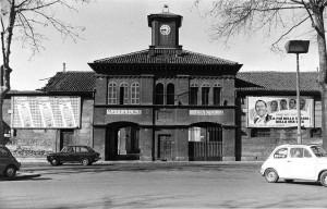 Mattatoio civico, entrata, 1973 ©Archivio Storico della Città di Torino (FT 13A08_030)