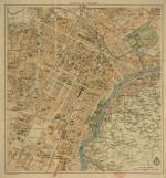 Pianta di Torino, 1930 circa