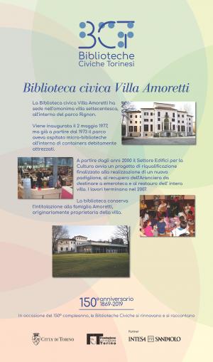 1869-2019. Biblioteca civica Villa Amoretti