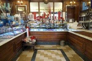 Stratta Confetteria, particolare dell'interno, 2016 © Archivio Storico della Città di Torino