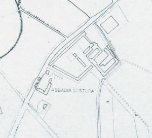 Abbadia di Stura. Istituto Geografico Militare, Pianta di Torino, 1974, © Archivio Storico della Città di Torino