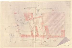 Bombardamenti aerei. Censimento edifici danneggiati o distrutti. ASCT Fondo danni di guerra inv. 1083 cart. 22 fasc. 38. © Archivio Storico della Città di Torino