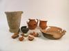 Materiali rinvenuti in piazza San Carlo, dopo il restauro, © Soprintendenza per i Beni Archeologici del Piemonte e del Museo Antichità Egizie