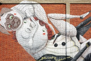 ZED1, La barca dell'artista, 2014, spazio culturale Variante Bunker. Fotografia di Roberto Cortese, 2017 © Archivio Storico della Città di Torino
