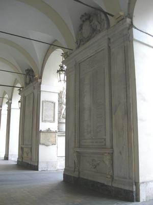 Lapide dedicata ai Torinesi caduti nella Prima guerra d'indipendenza