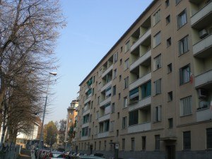 Case economiche municipali, vie Denza, Cremona, Aosta, Camino