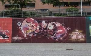 Velvet e altri, murale senza titolo, 2012, Parco Dora