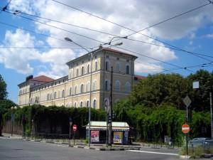 Ex Istituto Figlie dei Militari da corso Quintino Sella. Fotografia di Silvia Bertelli