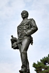 Giacomo Ginotti, Monumento a Carlo Nicolis di Robilant (particolare della statua, veduta laterale), 1894-1899. Fotografia di Mattia Boero, 2010. © MuseoTorino.