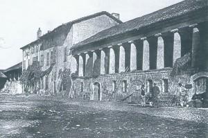 Vaduta della cascina La Marchesa, già La Florita negli anni Venti del Novecento. © EUT 6.
