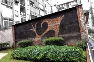 Filippo di Sambuy, Senza titolo, 2000, vie Balme/Corio, MAU Museo Arte Urbana. Fotografia di Roberto Cortese, 2017 © Archivio Storico della Città di Torino