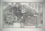Pianta della città di Torino, 1844