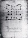 Giacomo Soldati. La Bastita di Torino nel progetto di ristrutturazione in chiesa. © Archivio di Stato di Torino.