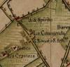 Cascina Commenda.  Carta Topografica della Caccia, 1760-1766 circa, © Archivio di Stato di Torino