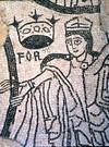 Mosaico di San Salvatore. © Soprintendenza per i Beni Archeologici del Piemonte e del Museo Antichità Egizie.