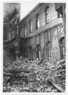 Via Pio V, Via Sant'Anselmo, Sinagoga. Danni prodotti dall'incursione aerea del 20-21 novembre 1942. UPA 1892_9B03-10. © Archivio Storico della Città di Torino
