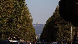 Veduta della Basilica di Superga da corso Francia. Fotografia diPaolo Mussat Sartor e Paolo Pellion di Persano, 2010. © MuseoTorino