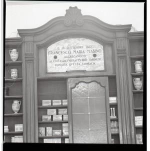 Regia farmacia Masino, targa marmorea, 1998 © Regione Piemonte