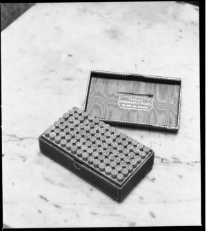Farmacia Montanaro-Bacolla, contenitore dep prodotti omepatici, 1998 © Regione Piemonte