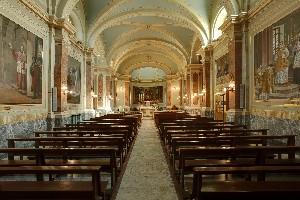 Valdocco. Chiesa di San Francesco di Sales, interno. Fotografia di Ravani&Ficarra per Associazione Volarte.