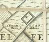 Cascina Fossata. Amedeo Grossi, Carta Corografica dimostrativa del territorio della Città di Torino, 1791. © Archivio Storico della Città di Torino