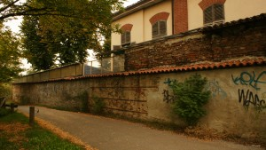 Manica Sud-Est della cascina Mirafiori. Fotografia di Edoardo Vigo, 2012.