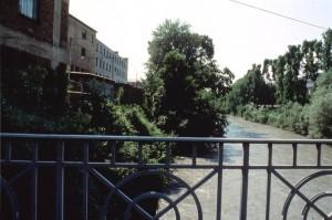 Ponte Amedeo IX Il Beato, Ex Michelin, vecchio di ponte via Livorno. Fotografia di Agata Spaziante, 1991