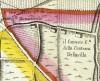 Cascina Tre Tetti Nigra. Amedeo Grossi, Carta Corografica dimostrativa del territorio della Città di Torino, 1791, © Archivio Storico della Città di Torino