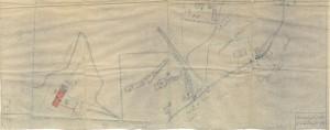 Bombardamenti aerei. Censimento edifici danneggiati o distrutti. ASCT Fondo danni di guerra inv. 2533 cart. 52 fasc. 3 foglio n. 1_seconda parte. © Archivio Storico della Città di Torino