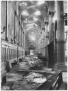 Chiesa di San Gioacchino Corso Giulio Cesare angolo Via Vittorio Amedeo Cignaroli 3. Effetti prodotti dai bombardamenti dell'incursione aerea dell'8-9 dicembre 1942. UPA 2754D_9C06-02. © Archivio Storico della Città di Torino