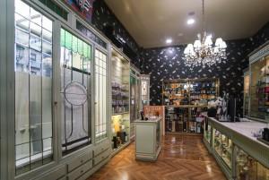 Profumeria Tina Bigiotteria, vista interno, 2018 © Archivio Storico della Città di Torino