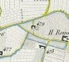 Cascina Bussone. Antonio Rabbini, Topografia della Città e Territorio di Torino, 1840. © Archivio Storico della Città di Torino