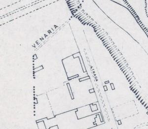 Cascina Nicolini e Cascina Arnaldi, già cascina Rubeo. Istituto Geografico Militare, Pianta di Torino, 1974. © Archivio Storico della Città di Torino
