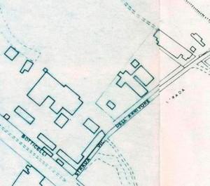 Cascina del Rivore. Istituto Geografico Militare, Pianta di Torino, 1974. © Archivio Storico della Città di Torino
