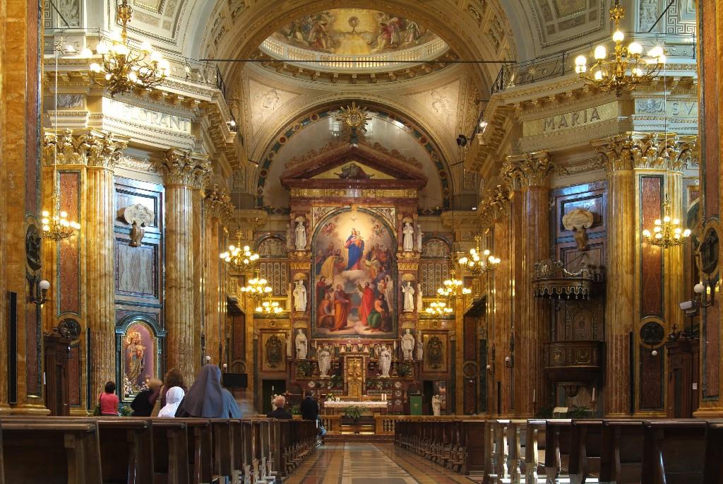 Basilica di maria ausiliatrice museotorino for Interno help