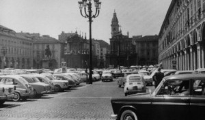 Piazza San Carlo, anni Sessanta © Archivio Storico della Città di Torino