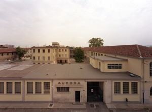 Ditta Aurora, stabilimento industriale