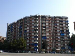 Consorzio edilizio Pitagora, complesso cooperativo residenziale, piazza Pitagora 4-7, corso Orbassano 255