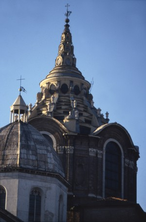 Cappella della Santa Sindone, cupola. Fotografia di Dulevant 1987. © Fondazione Torino Musei - Archivio fotografico