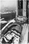 Piazza Carlo Emanuele II, Chiesa Santa Croce.  Effetti prodotti dai bombardamenti dell'incursione aerea dell'8 dicembre 1942. UPA 2645D_9F02-31. © Archivio Storico della Città di Torino