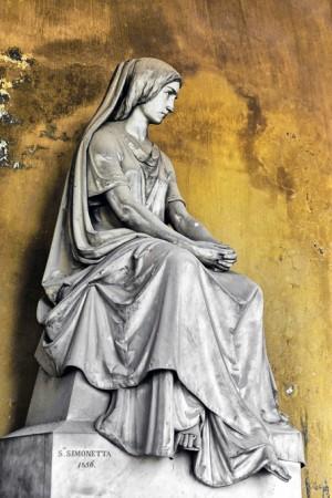 23AI Silvestro Simonetta (1820-1875), Tomba Camossi, 1856 (Arcata 128). Fotografia di Roberto Cortese, 2018