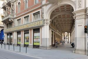 Restaurant Cafè EXKI, già Farmacia Alleanza Cooperativa Torinese n. 3, esterno, Fotografia di Marco Corongi, 2007 ©Politecnico di Torino