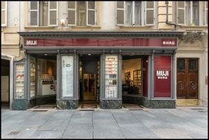 Muji, accessori e arredo, ex Libreria Lattes